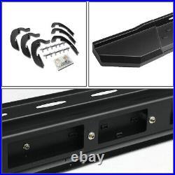 For 2007-2019 Chevy Silverado Ext Cab Black 5.5running Board Step Bar Lh+rh