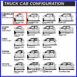For 2007-2019 Chevy/gmc Silverado Sierra Standard Cab 5od Running Board Step Ba