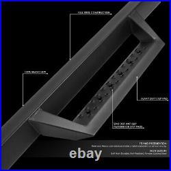 For 2007-2019 Silverado Sierra 3 Regular Cab Side Step Nerf Bar Running Board