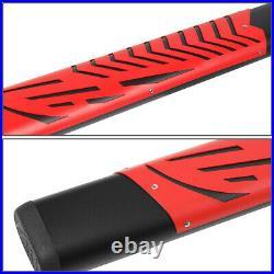 For 2007-2019 Silverado Sierra 5.5 Oval CREW Cab Side Step Bar Running Boards