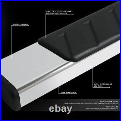 For 2007-2019 Silverado Sierra Extended Cab Running Board Side Step Nerf Bar