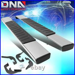 For 2007-2019 Silverado/sierra Standard Black 6running Board Step Bar Lh+rh