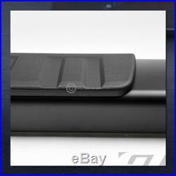 For 2007+ Silverado/Sierra Ext Cab 6Aluminum Black Side Step Running Boards