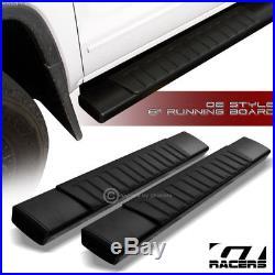 For 2007+ Silverado/Sierra Regular 6 Oe Aluminum Blk Side Step Running Boards
