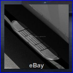 For 2015-2019 Colorado/Canyon Crew 3 Blk Side Step Nerf Bars Running Boards hd