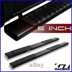 For 2015-2019 Colorado Crew Cab 6Type Aluminum Blk Side Step Running Boards