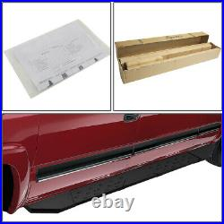 For 2015-2020 Chevy Colorado Extended Cab Black 5.5running Board Step Bar Lh+rh