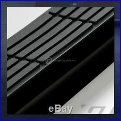 For 2015-2020 Colorado/Canyon Crew 3 Blk Side Step Nerf Bars Running Boards HD