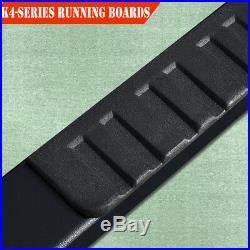 For 2015-2020 Colorado/Canyon Ext. Cab 4 Nerf Bar Running Board Side Step BLK H
