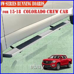 For 2015-2021 Colorado/Canyon Crew Cab 5.5 Side Step Running Board Nerf Bar DW