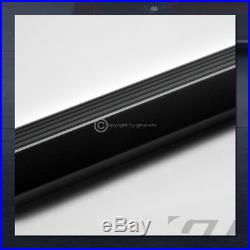 For 2015+ Colorado/Canyon Crew 5 Matte Blk Aluminum Side Step Running Boards I4