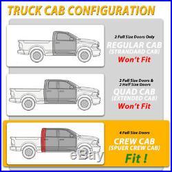 For 2019-2020 Chevy Silverado Crew Cab 3 Running Board Side Step Nerf Bar BUC