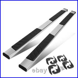 For 2019-2020 Silverado Crew Cab 5 Stainless Running Board Step bars Chrome