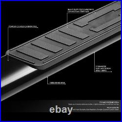 For 2019-2020 Silverado Sierra Extended Cab 5od Oval Step Bar Running Board