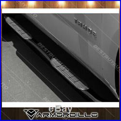 For 82-03 Chevy S10 Extened Cab 3 Round Black Side Step Nerf Bar Running Boards