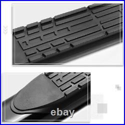 For 88-00 Chevy/GMC C/K Extended Cab 4 Side Step Nerf Bar Running Board Black