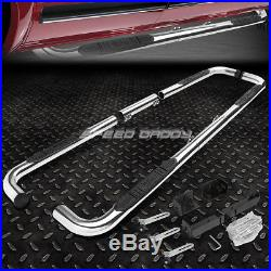For 99-11 Chevy/ram/gmc Ext/crew Bully Chrome 3side Step Nerf Bar Running Board