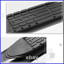 For 99-14 Chevy Silverado Crew Cab 4 Side Step Nerf Bar Running Board Black