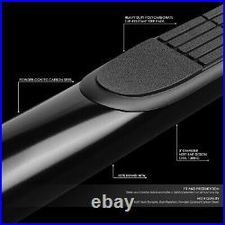 For 99-14 Chevy/gmc Silverado Sierra Crew Cab 3 Side Step Bar Running Boards