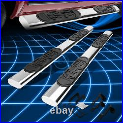 For 99-14 Sierra 1500-3500 Crew Cab 6 Chrome S/S Oval Step Bar Running Boards