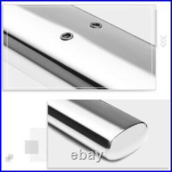 For 99-14 Silverado/Sierra Regular Cab 4Side Step Nerf Bar Running Board Chrome
