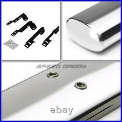 For 99-14 Silverado/sierra Reg 6chrome Oval Side Step Nerf Bar Running Board