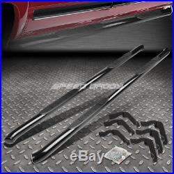 For 99-16 Silverado/gmc Sierra Ext Cab Black 3 Side Step Nerf Bar Running Board