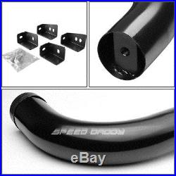 For 99-16 Silverado/gmc Sierra Reg Cab Black 3 Side Step Nerf Bar Running Board