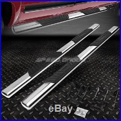 For 99-16 Silverado/sierra Ext 5 Chrome Oval Side Step Nerf Bar Running Board