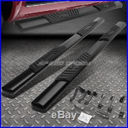 For 99-16 Silverado/sierra Ext Cab 5black Oval Side Step Nerf Bar Running Board