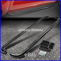 For 99-16 Silverado/sierra Ext Cab Black Ss 3 Side Step Nerf Bar Running Board