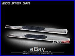 For 99-18 Chevy Silverado Regular 4 Oval Ss Side Step Nerf Bars Running Boards