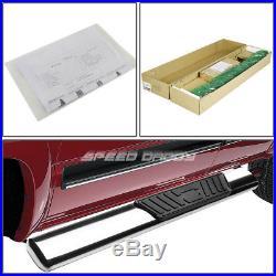 For 99+ Silverado/sierra Reg Cab 5 Chrome Oval Side Step Nerf Bar Running Board