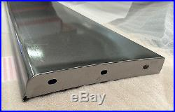 GMC 1/2 Ton Pickup Truck and Panel Delivery Steel Running Board Set 1931-32