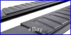 GMC Sierra Chevy Silverado 07-19 Extended Cab Black Side Step Bars Running Board