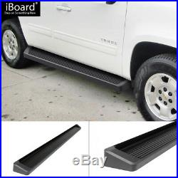 IBoard Black Running Boards Style Fit 05-20 Chevrolet Tahoe GMC Yukon