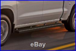 IBoard Running Boards 4 Black Fit 19-20 Chevy Silverado/GMC Sierra Crew Cab