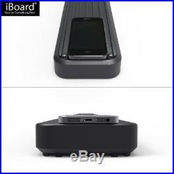 IBoard Running Boards 4 Matte Black Fit 07-17 Chevrolet Traverse