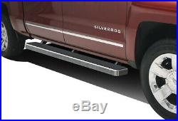 IBoard Running Boards 5 inches Fit 01-13 Chevy Silverado GMC Sierra Crew Cab
