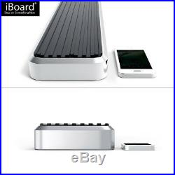 IBoard Running Boards 5 inches Fit 15-20 Chevy Colorado GMC Canyon Crew Cab