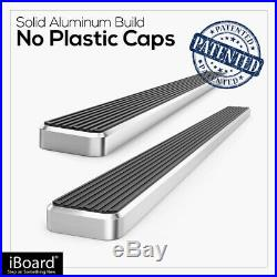 IBoard Running Boards 5 inches Fit 99-13 Chevy Silverado GMC Sierra Double Cab