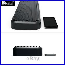 IBoard Running Boards 5 inches Matte Black Fit 07-17 Chevrolet Traverse