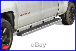 IBoard Running Boards 6 inches Fit 19-20 Chevy Silverado GMC Sierra Crew Cab
