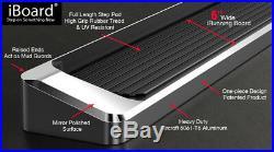 IBoard Running Boards Style Fit 07-18 Chevy Silverado GMC Sierra Crew Cab