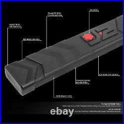 J2 For 07-19 Silverado Sierra Crew Cab Black 6.5 Side Step Bar Running Board