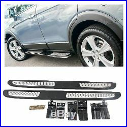 Luxury Side Steps Running Boards To Fit Chevrolet Holden Captiva 7 2007-2017