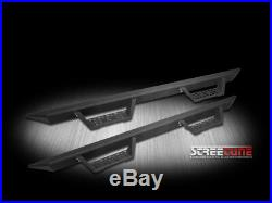 Matte Black Modular Drop Step Bars Running Boards Fit 15-18 Colorado/Canyon Crew