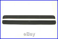 NEW Westin 93 Molded Black Plastic Running Boards 27-0020 Chevy GMC Ford Dodge