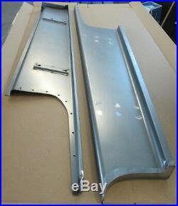 New 1937 Chevrolet Coupe Sedan Car Smooth Steel 16g Running Boards all Models