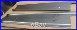 New 1938 Chevrolet 2 Wider Car Smooth Steel 16g Running Boards all Models